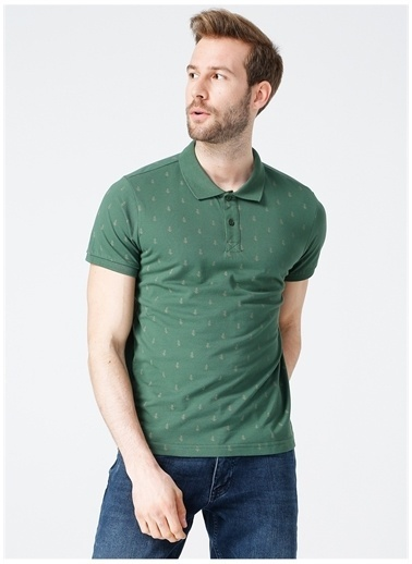 Lee Cooper Lee Cooper Polo T-Shirt Yeşil